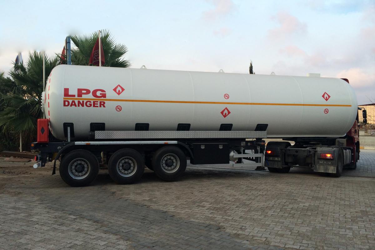 LPG Transport Tanks